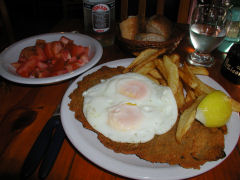 Clover Light milanesa