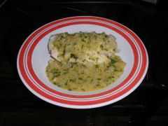 Cod with Celery Sauce