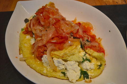 Color Palate of Italy - Core Ingredients - Ricotta Fritatta