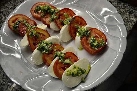 Color Palate of Italy - caprese salad