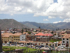 View of Cuzco