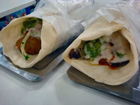 Dody - shawarma and falafel sandwiches