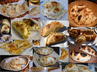 Empanada Collage