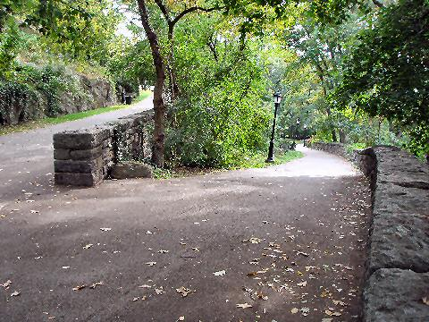 Fort Tryon Park - pathways