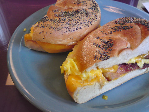 George's - egg sandwich