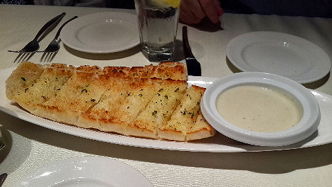 Henry's Place - bread with gorgonzola dip
