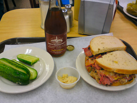 Katz's pastrami and chopped liver