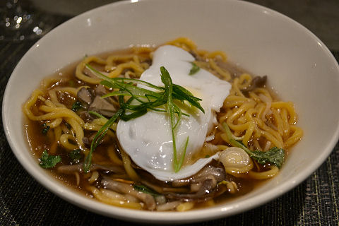 Kin Shop - duck egg noodle soup
