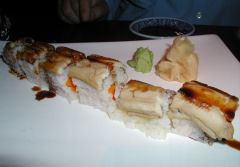 Koi - sea eel roll