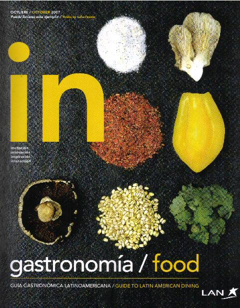 in magazine gastronomy issue