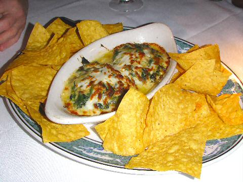 Landry's - Crab, Spinach, and Avocado Dip