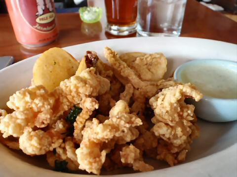 The Little Owl - fried clams