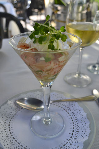 Lola - lobster ceviche