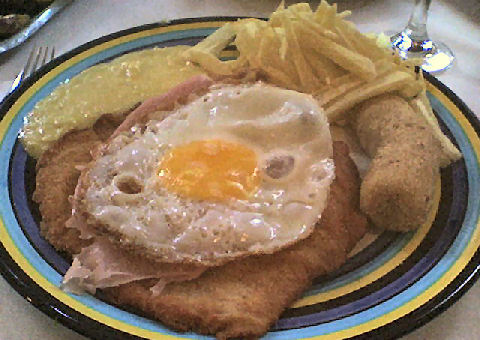 Los Molinos - chicken maryland