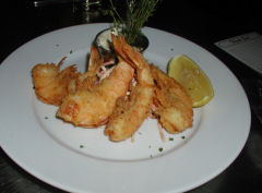 Mary's Fish Camp - Salt Crusted Shrimp