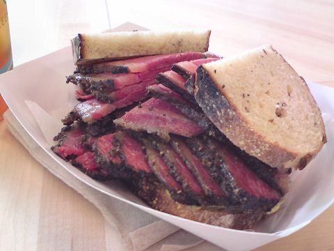 Mile End Sandwich - smoked meat