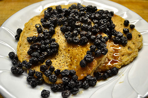 Millenium - Oat and Walnut Pancakes
