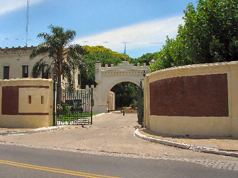 The entrance to the Museo Historico del Ejercito Argentino