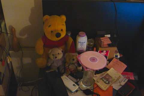 The nightstand bear