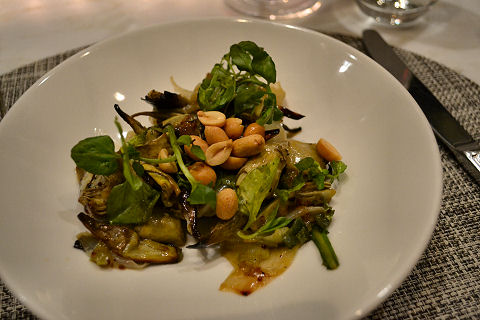 North End Grill - artichoke salad