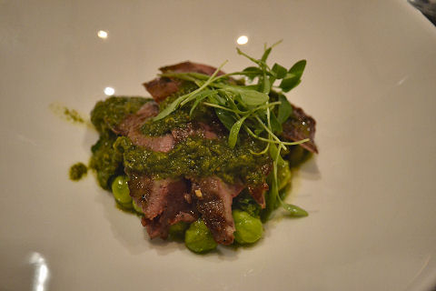 North End Grill - lamb liver
