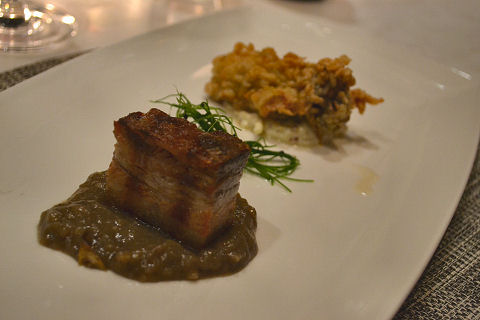 North End Grill - pork belly
