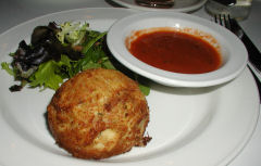 Oyster Bar - Maine Crabcake