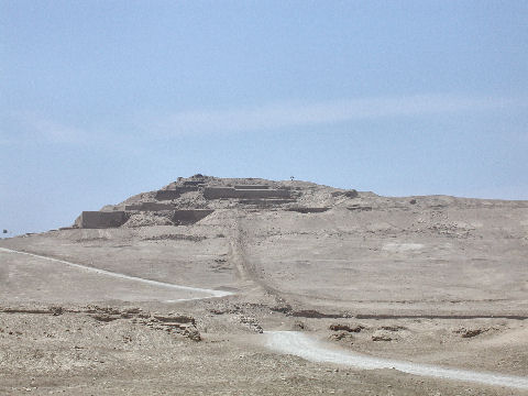 Incan sun temple at Pachacamac