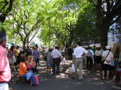 Plaza de Paraguay - Indigenous Peoples Fair