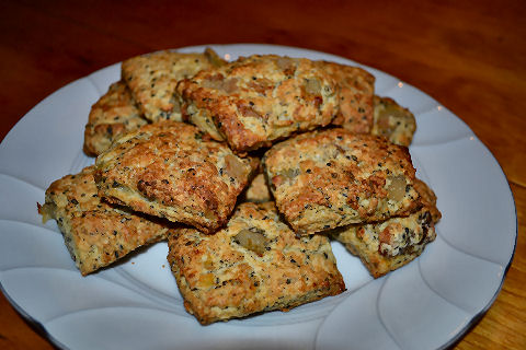Pear Sesame Scones