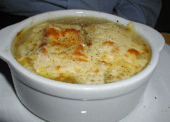 Rabelais - onion soup