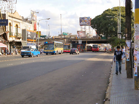 The last stretch of Av. Rivadavia
