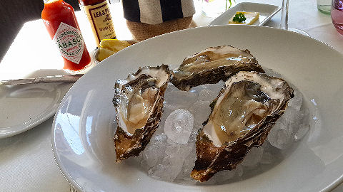 Roux - oysters