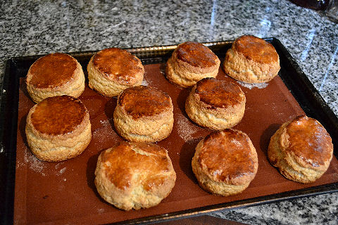 Savoy recipe scones