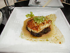 Spice Market - steamed cod