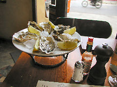 Spirit - oysters on the half shell