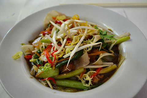 Sudestada - vegetable noodles