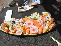 Sushi Club selection