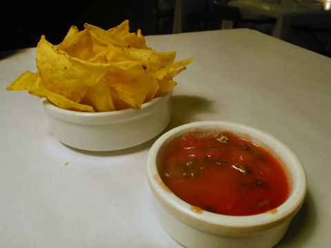 The Taco Box - chips and salsa