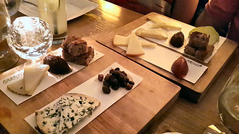 The Bazaar - cheeseboard