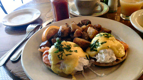 The Smith - salmon benedict