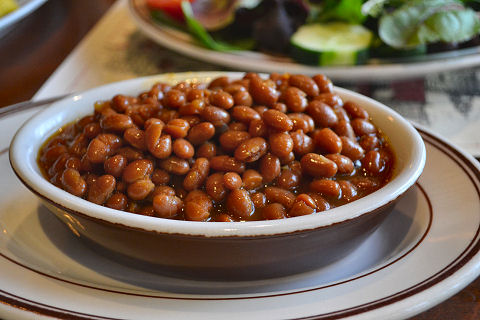 Union Oyster House - baked beans