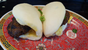 Talde Brooklyn - longaniza egg cheese bao