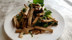 beijing-smoked-tofu-with-cilantro