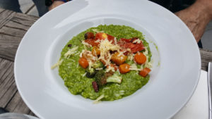 Lincoln Kitchen & Bar - herb risotto