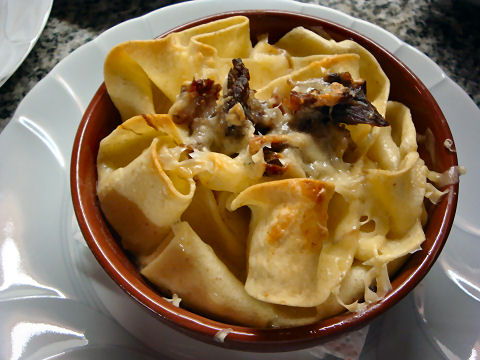 Pappardelle with Oxtail