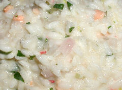 Salmon Risotto St. Laurant