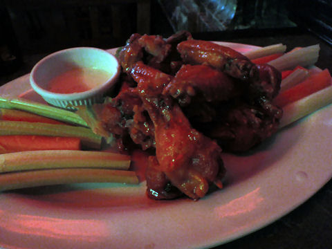 Casa Bar - hot wings