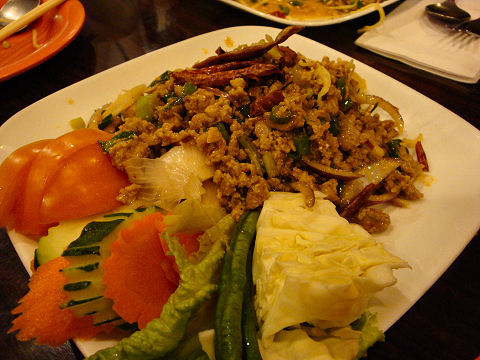 Chao Thai - larb duck