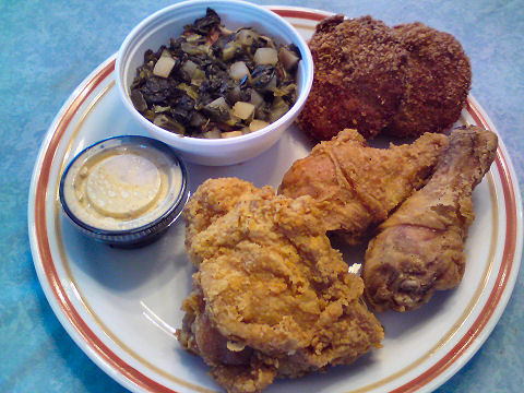 Goose Creek Diner - fried chicken and fixin's
